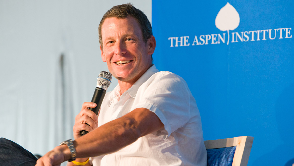 Lance Armstrong Talks with Walter Isaacson