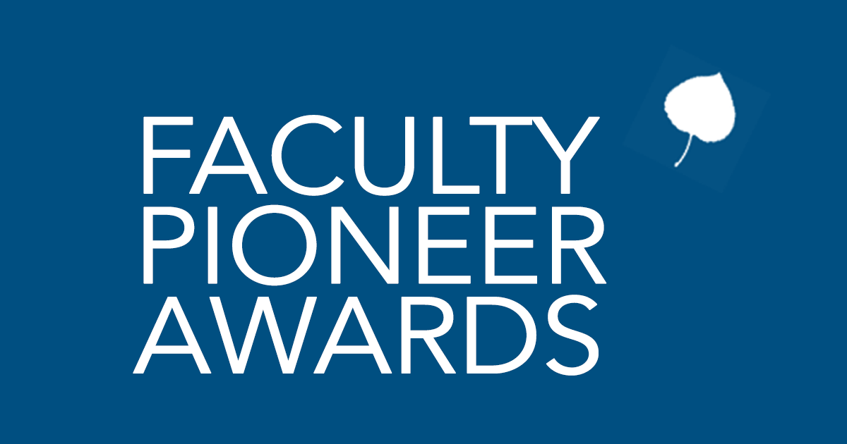 Announcing the 2016 Aspen Faculty Pioneer Award Winners