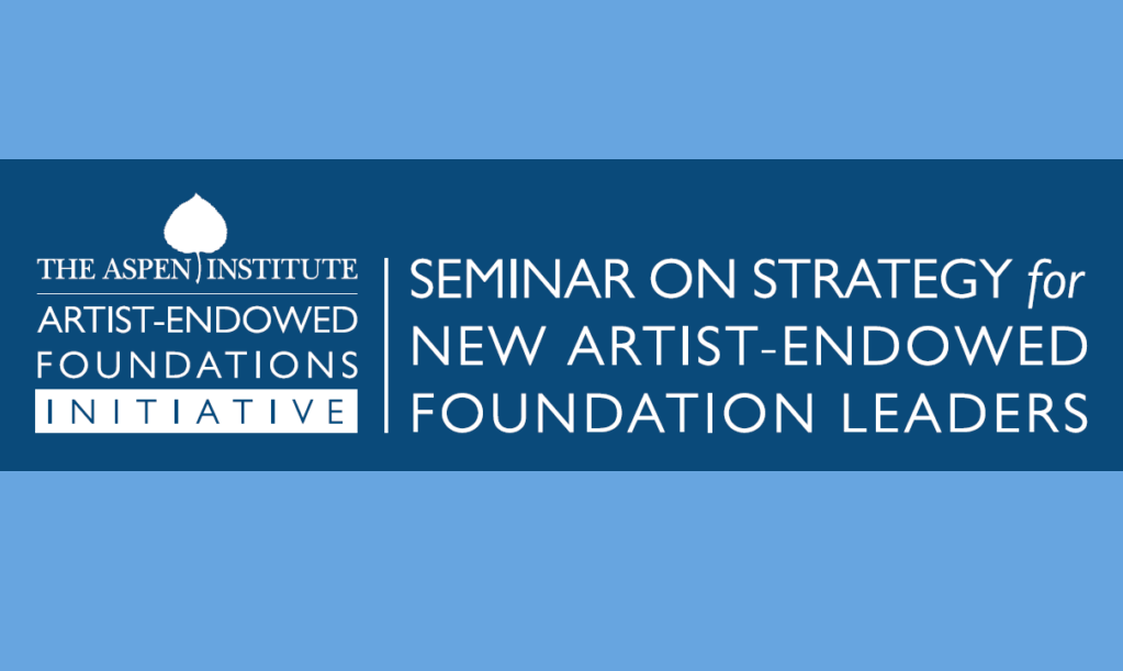 Seminar on Strategy for New Foundation Leaders