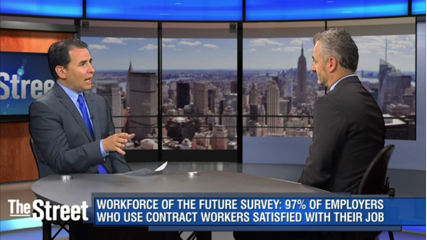 On-Demand Economy Spurs Use of Contract Workers