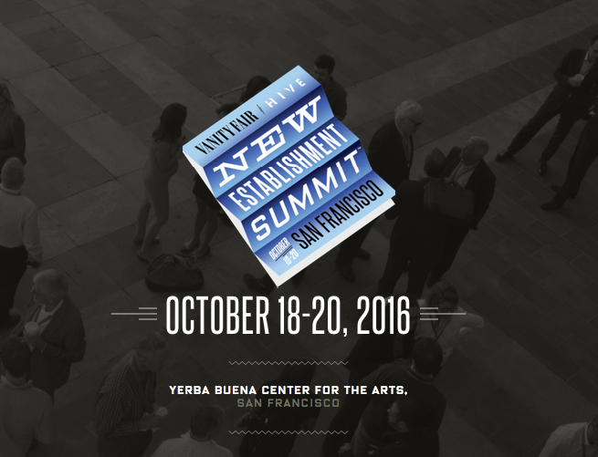 2016 Vanity Fair New Establishment Summit