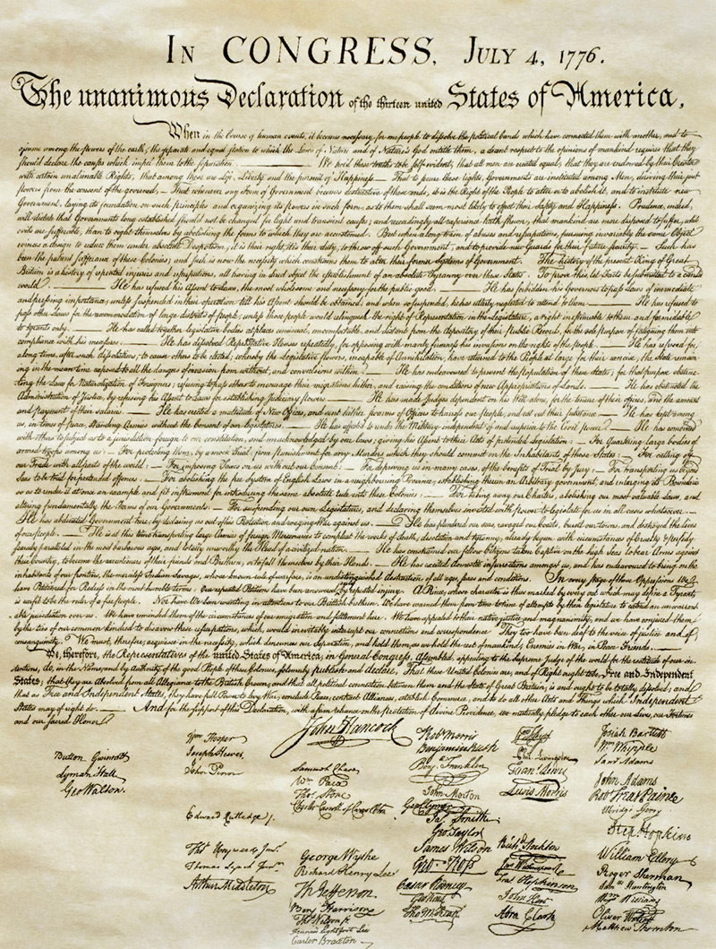 The Paradox of the Declaration of Independence