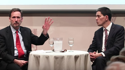 David Miliband and Michael W. Doyle