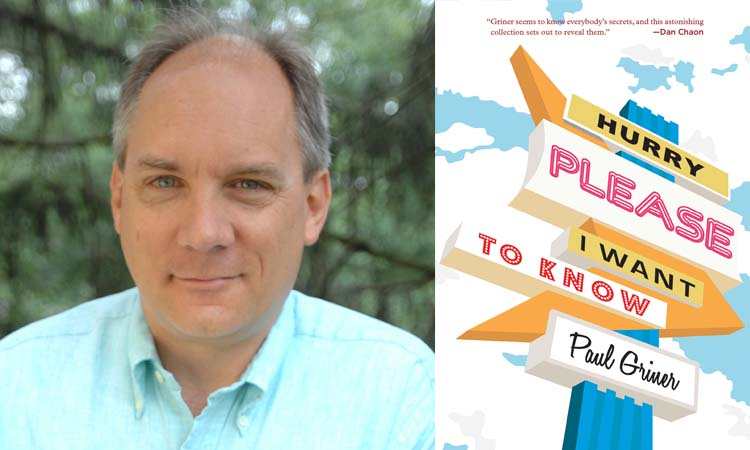 Writer in Residence: Paul Griner