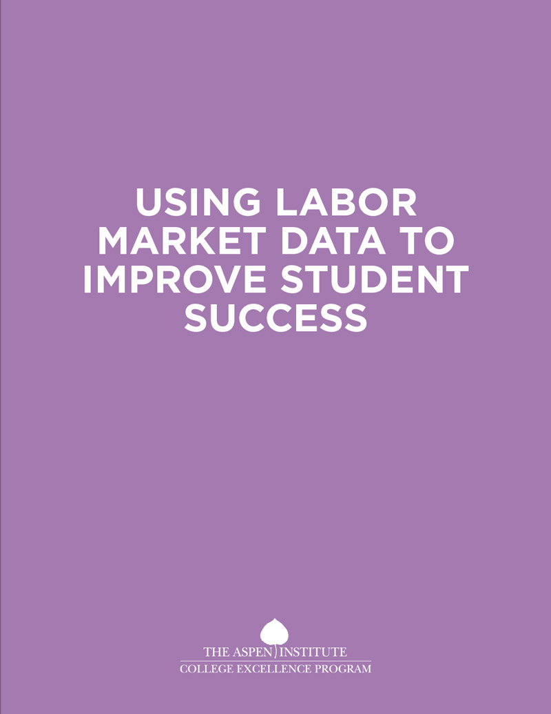 Using Labor Market Data to Improve Student Success