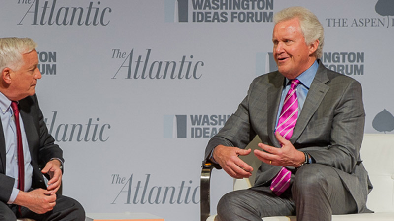 GE CEO Reflects on Ideas Forum