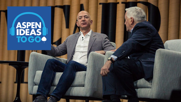 Jeff Bezos on High Tech, Space, and AI