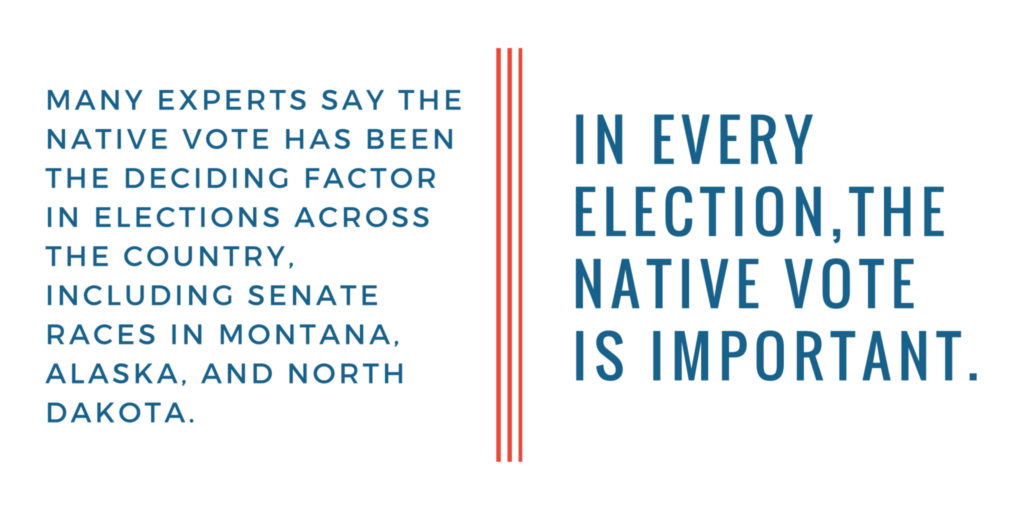Why the Native Vote Matters — for Tribal Communities, and our Country