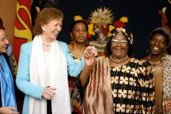 President Banda and Mary Robinson