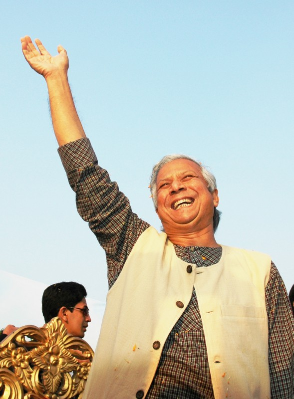 Aspen Global Health and Development welcomes Professor Yunus