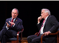 FRIDAY FACES: Former New York City Mayor Michael Bloomberg Honored with 2013 Tisch Award