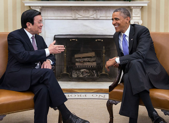 Obama: Include Disability in Strategic Partnership Talks with Vietnam's President