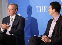 Book talk with Google's Eric Schmidt and Jared Cohen